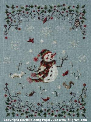Filigram Snowballs,A66