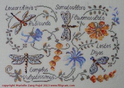 Filigram Dragonflies,A70