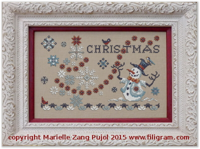 Filigram Christmas and Snowflakes,A105