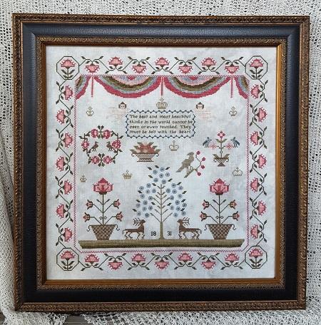 Samplers Not Forgotten Faith 1831