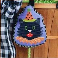 Pepperberry Designs Fancy Black Cat