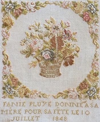 Reflets de Soie Fanie Pluye 1848