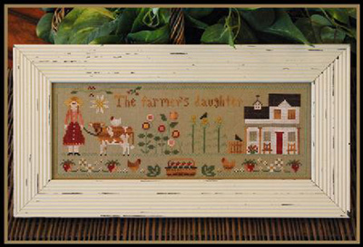 Farmers daughter by Little House of Needleworks