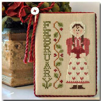 February by Little House of Needleworks