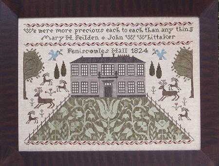 Heartstring Samplery Feniscowles Hall 1824