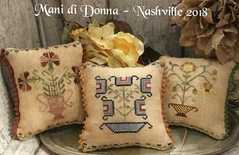 Mani di Donna Flower Pot Pillows MDD-FPP