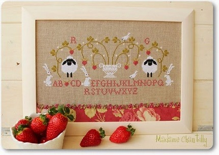 Madame Chantilly Fraises (Strawberries)
