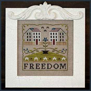 Freedom House by Little House of Needleworks
