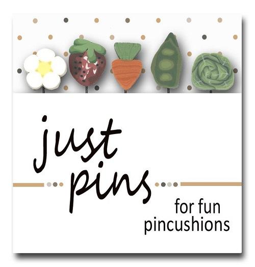 JUBCO Fresh vegetables pin set