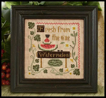 Fresh Watermelon by Little House of Needleworks