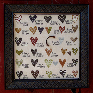 Friendship Sampler by Carriage House Samplings