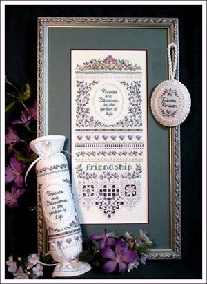 Friendship Sampler by The Victoria Sampler