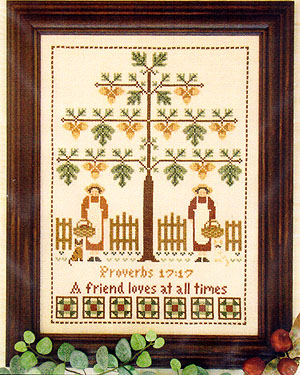 Friendship tree by Little House of Needleworks