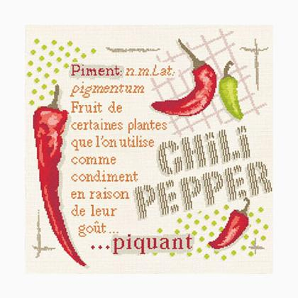 Chilli peppers by Lili Points