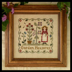 Garden pleasures by Little House of Needleworks