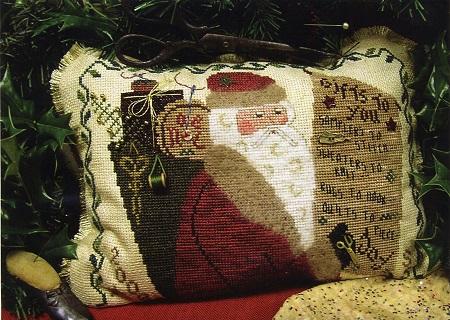 Homespun Elegance Cinnamon Stick Santa Gifts To You