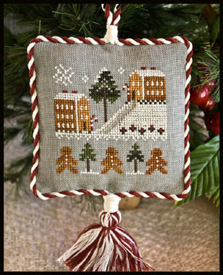 Gingerbread Village by Little House of Needleworks