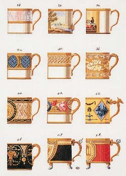 Ornamental Cups by Thea Gouverneur
