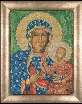 Madonna of Czestochowa by Thea Gouverneur