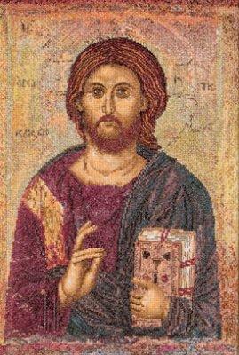 Christ Pantocrator by Thea Gouverneur