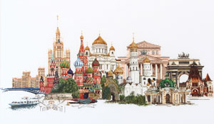 Moscow by Thea Gouverneur