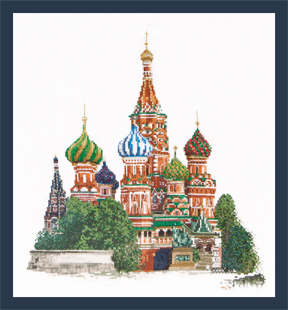 St. Basils Cathedral Moscow by Thea Gouverneur