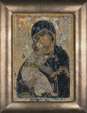 Our Lady of Vladimir by Thea Gouverneur