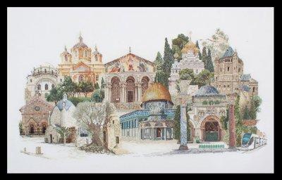 Jerusalem by Thea Gouverneur