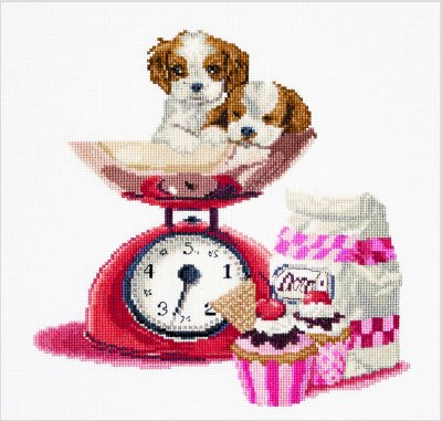 Baking Puppy by Thea Gouverneur
