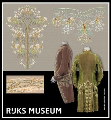 Habit a La Francaise (2 designs)- Rijks Museum Catwalk,GOK784,Thea Gouverneur