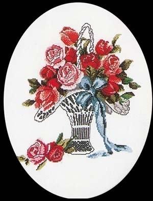 Poetry Rose Basket,GOK926,Thea Gouverneur