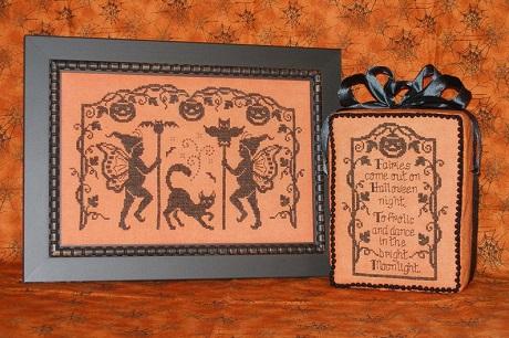 Waxing Moon Designs Halloween fairies