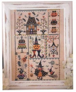 Halloween in quilt by Cuore e Batticuore