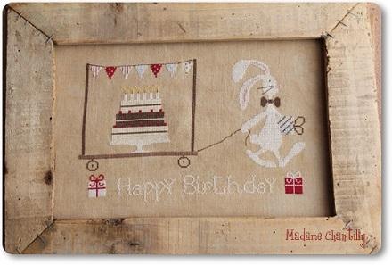 Madame Chantilly Happy Birthday