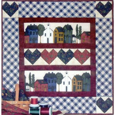 Hearts and Homes quilting kit by Rachael's of Greenfield