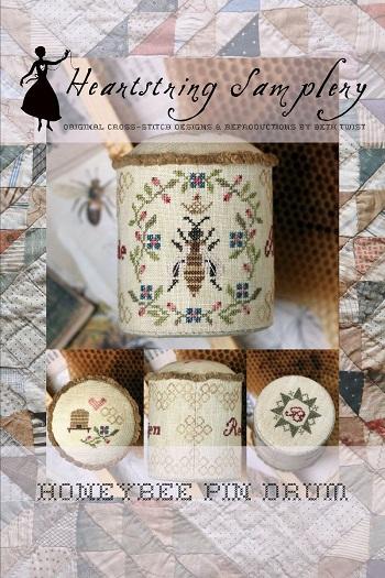 Heartstring Samplery Honeybee Pin Drum
