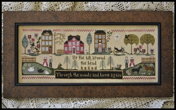 Hillside Travelers by Little House of Needleworks