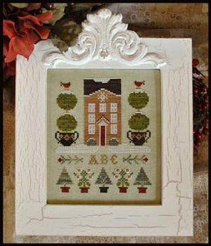 Holiday house by Little House of Needleworks