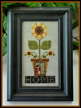 Home Is Where The Sunflowers Grow by Little House of Needleworks