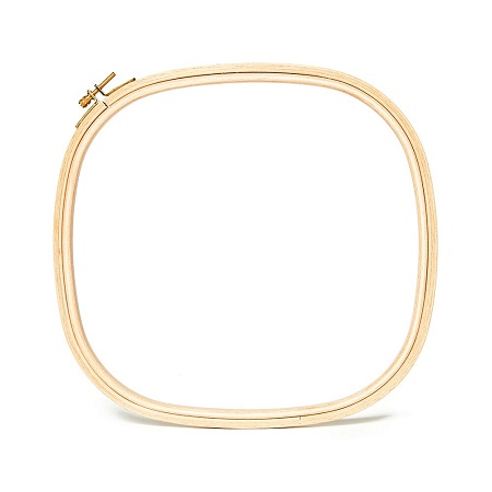 Hardwicke Manor Wooden Embroidery Hoops-hop-10100 - 10 x 10 Square