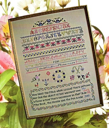 How Blest The Maid by Cross Stitch Antiques