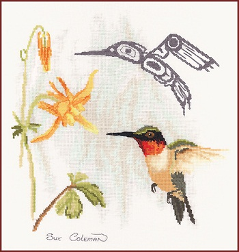 Hummingbird by Stitching Studio