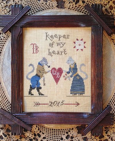 Scattered Seed Samplers Keeper of My Heart