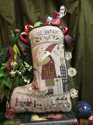Slater's Stocking by Shepherd's Bush
