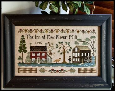 Inn At Fox River Mill by Little House of Needlework