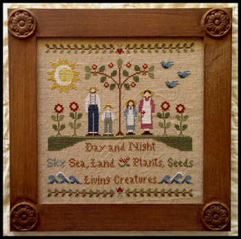 In The Beginning by Little House of Needleworks