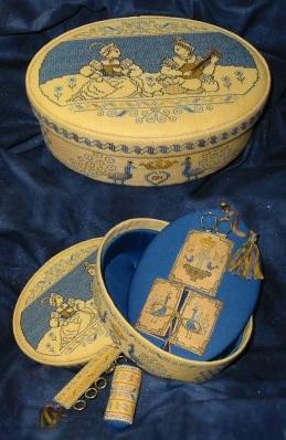 Giulia Punti Antici Italian Renaissance Sewing Box