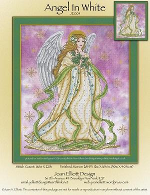 Angel in White by Joan Elliott