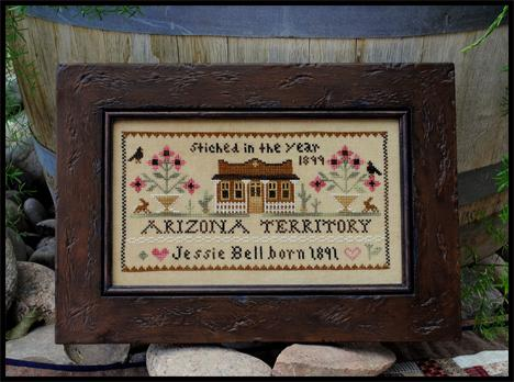 Jessie Bell-Arizona territory by Little House of Needlework
