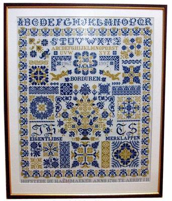 Jan Houtman Designs JH09 -30 Years Embroidery